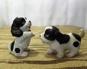 Set of 2 HOMCO Springer Spaniel Puppies, 1427