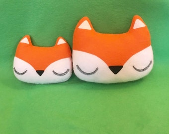 Large Fox Cushion - Woodland Decoration - Fox Pillow - Fox Plush - Nursery Decor - Woodland Decor - Fox Gifts - Fox Decor - New Baby Gift