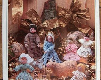 starting in 1995  Magic Crochet patterns complete CRECHE set Nativity taken from 7 books