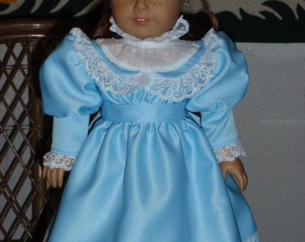 1870s  Anne of Green Gables Christmas Holiday Dress American Girl Kirsten 18 inch doll
