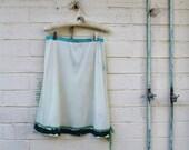 Medium/Large upcycled Skirt/Fairy Skirt/upcycled Clothing/Hippie skirt/Repurposed skirt/Earth Day Goddess Skirt/Lucysroom/Music Festival/eco