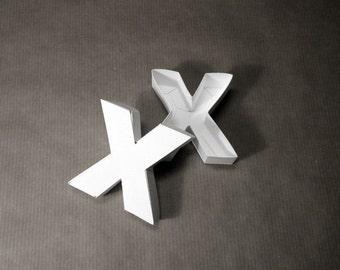 Gift idea: Letter X box