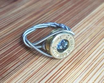 guitar string fidget ring fidget ring guitar string ring. Black Bedroom Furniture Sets. Home Design Ideas