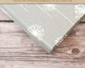 Baby  Book (Pregnancy - 5 Years) - Grey Dandelion (136 designed journaling pages & personalization included with album)