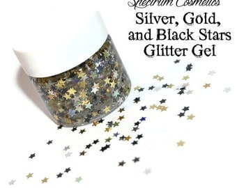 STAR Glitter Gel for Face, Body, and Hair