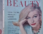 Vogue's New Beauty Book 1959 - 1960 Vintage Vogue Magazine 50s 60s Cosmetics Fashion Grooming Hairdressing 1950s 1960s Jane Fonda