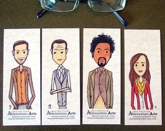 Inception Bookmarks - set of 4 - Arthur Eames Yusuf Ariadne