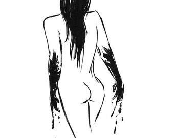Inktober 2016 No 13 - 5.5 x 7.5 Ink Drawing