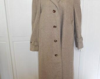Vintage 1950s Men's Overcoat