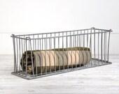 Wire Basket, Industrial Metal Storage Bin, Metal Basket, Industrial Storage