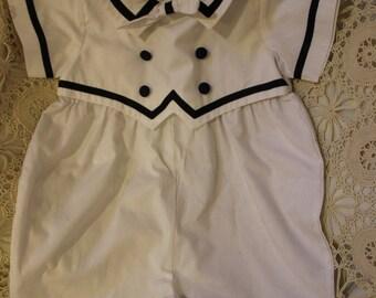 Sailor suit 12 months