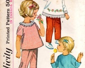 1960s Toddler Top and Pants - Vintage Pattern Simplicity 6236 - Size 2