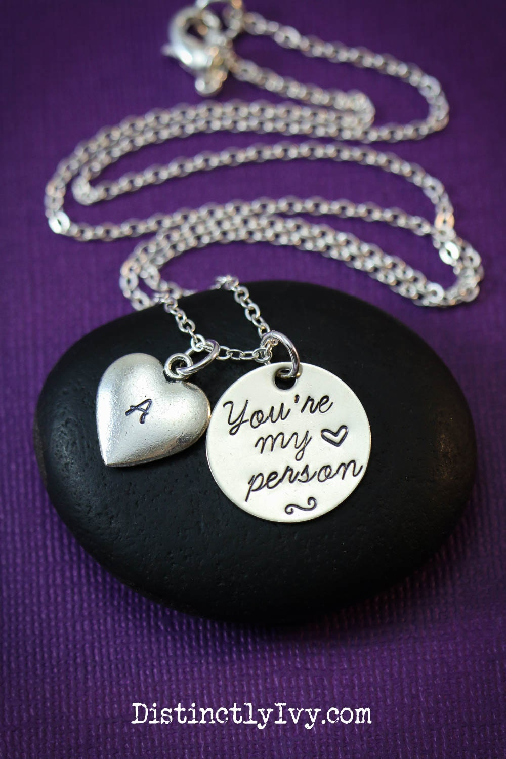 sale you re my person necklace best friend gift by