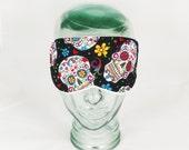 Sugar Skull Sleep Mask Day of the Dead Eye Mask Blindfold