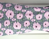 Reversible Apron - Women's Chef Apron - Two Sided Apron - Pink and Gray Floral Apron - Two Sided Apron