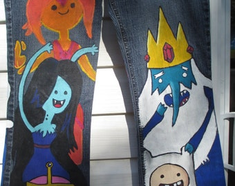 Adventure Time, Adventure time gender bent, Finn, Jake, Fiona, Cake, Marceline the vampie queen, Marshel Lee the vampire king,