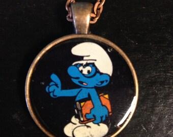 Smurf necklaces!