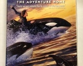 Free Willy 2: The Adventure Home Warner Brothers Children and Family VHS Movie