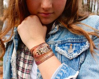 Silk Wrap Bracelet Hand Painted Silk Bracelet Hand Dyed Wrap Batik Print Bracelet Porcelain Bracelet Woven Bracelet Jewelry Gift Under 50