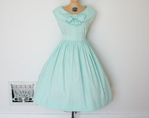 Vintage 1950s Dior Dress - 50s Dior Day Dress - The Grace