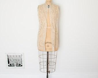 Edwardian Lace Vest - 1910s Lace Top - The Ada