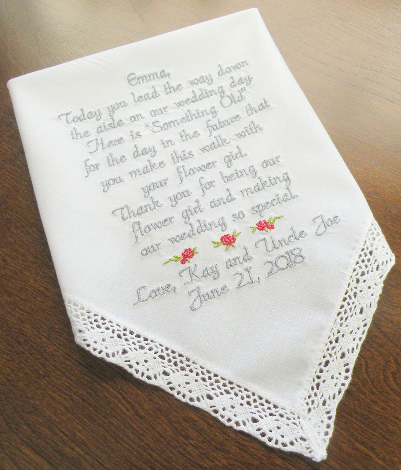 Flowers For Wedding Gift: Flower Girl Wedding Gift Wedding Gifts For Flower Girls