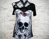 3 STYLES! skull themed shirt