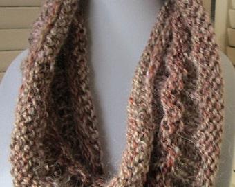 Moebius Cowl-Rose Copper