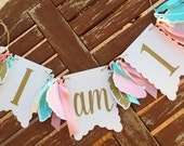 NEW!! | I am 1 | One| Boho Tribal | High Chair Banner | Photo Prop