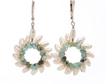 Small Sunburst Earrings