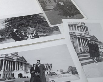 Vintage Photos from 1941 World War II Timeline 6 Pcs Black & White
