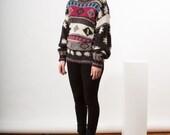 Long Sleeve Virgin Wool Sweater / Classic Winter Sweater / Warm Long Sleeve Sweater