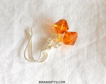 Topaz Crystal Earrings