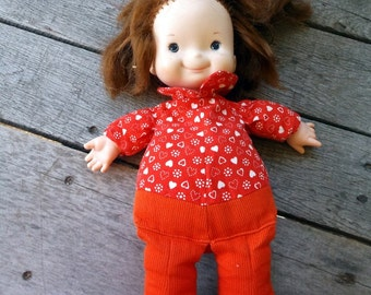Vintage 1970's Fisher-Price Lap Sitter Doll My Friend Audrey Number 203