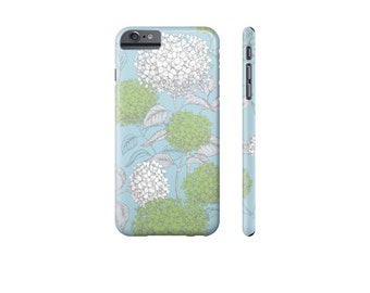 SPRING Floral iPhone 7 Plus Case, iPhone 7 Cover, iPhone 6 Case, Galaxy s7 Case, Pretty Phone Case, Hydrangea Phone Cover, Gift for Mom.