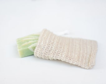 Natural Sisal Soap Pouch - Soap Saver Sack