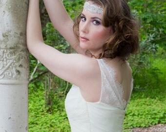 Bridal Headpiece - Beautiful Wedding Headpiece - Czech Crystals