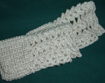 Fingerless Gloves Hand Crocheted