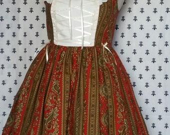 Victorian Style Jsk Dress w/ Half-bonnet