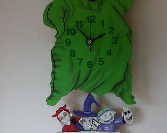 Nightmare Before Christmas Oogie Boogie Clock