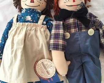 Raggedy Ann And Andy Volland Reproduction AXCIS INC by Gatormom13