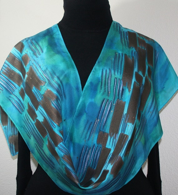 Hand Painted Silk Scarves Etsy