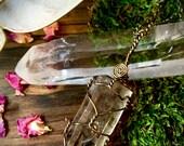 The Druidess- Smoky Citrine Necklace