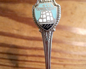 Connecticut State Souvenir Spoon