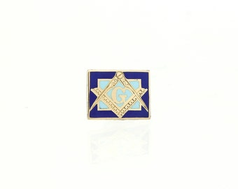 Antique Masonic Pin - 14K Gold