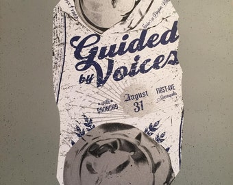 Guided By Voices gig poster (2016)