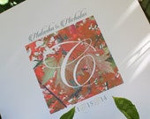 Low Cost Autumn Wedding Program ~3 pages personalized~