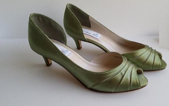 Sage Green Wedding Shoes Sage Green Bridal Shoes Sage Green