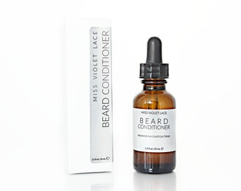 Beard Conditioner | Beard Oil for Dry, Damaged and Coarse Facial Hair | 100% natural and vegan