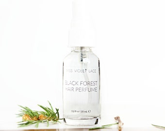 Black Forest Hair Perfume | Deep Woods | 100% natural and vegan - TRAVEL SIZE